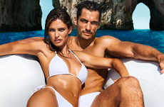 CROSSLINK_dolce and gabbana bianca balti david gandy light blue ad campaign