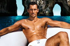 CROSSLINK_dolce and gabbana david gandy light blue ad campaign