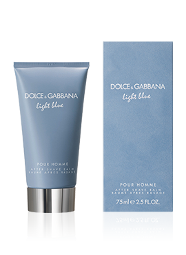 dolce-and-gabbana-Light Blue Pour Homme-perfume-men-after-shave-balm-75-ml