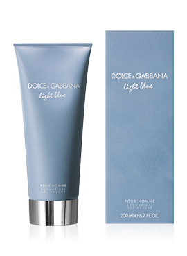 dolce-and-gabbana-Light Blue Pour Homme-perfume-men-shower-gel-200-ml