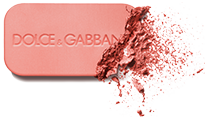 dolce and gabbana make up face blush of roses peach 400 formula shot