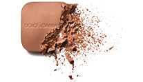 dolce and gabbana make up face solar glow ultra light bronzing powder desert 40 formula shot