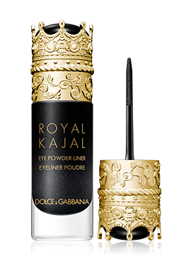 dolce and gabbana make up eyes kajal midnight black