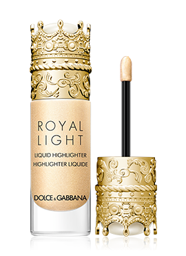 dolce and gabbana make up face royal light divine gold