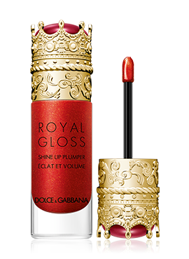 dolce and gabbana make up lips royal gloss jewel red