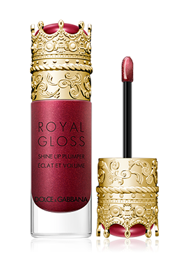 dolce and gabbana make up lips royal gloss precious dahlia